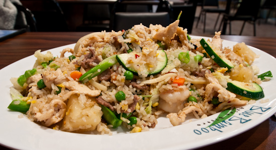 Blue Bamboo - Bamboo Fried Rice