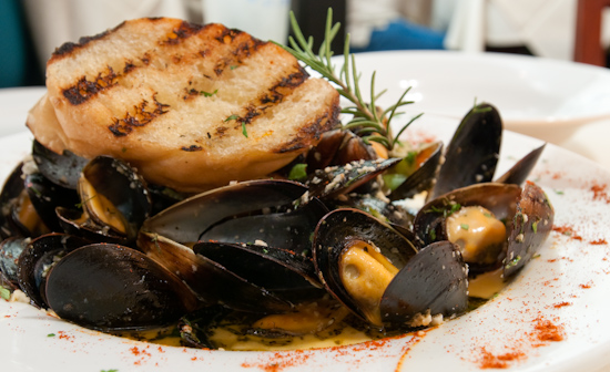 Bordeaux's - Pan Steamed Chilean Blue Mussels