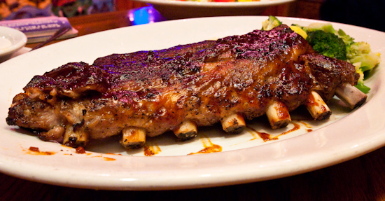 Outback Steakhouse - Full Rack of Baby Back Ribs