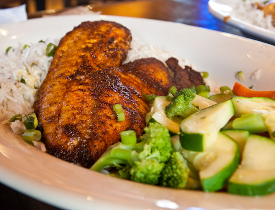 Natural Planet Grill - Blackened Tilapia