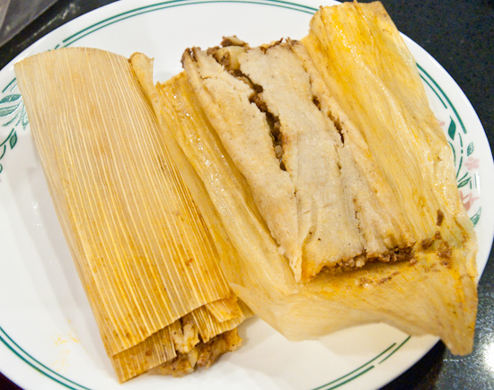 Beef and Potato Tamales