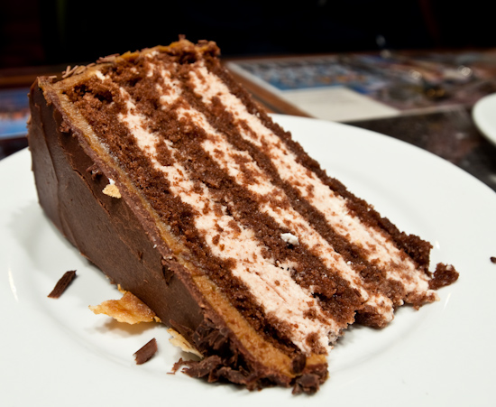 Buenos Aires Cafe - Dark Chocolate Mousse Cake