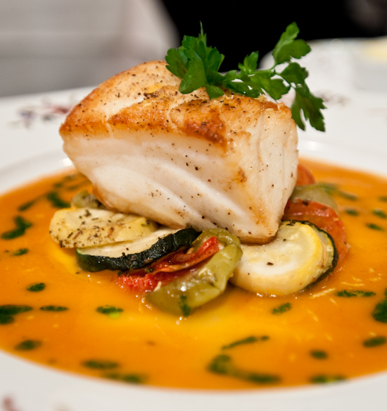 Aquarelle - Pan-Roasted Chilean Sea Bass