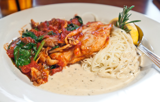 Nordstrom Cafe Bistro - Sauteed Chicken & Angel Hair Pasta