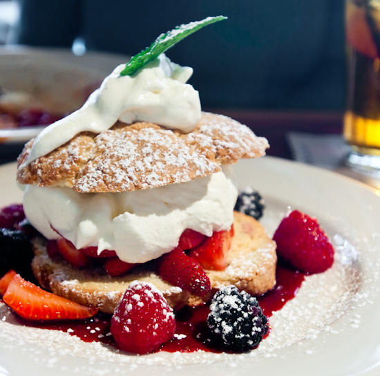 Nordstrom Cafe Bistro - Triple Berry Shortcake