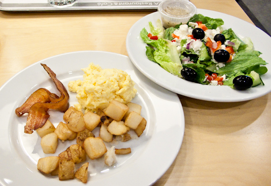 IKEA - Free Breakfast with Greek Salad