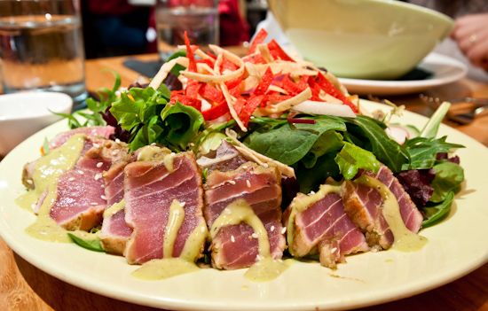 South Congress Cafe - Pan-Seared Tuna Salad