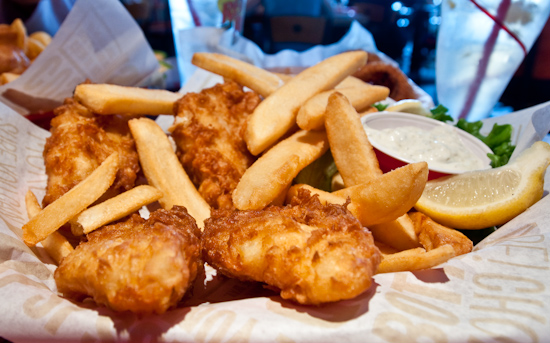 Red Robin - Arctic Cod Fish & Chips