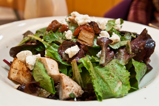 Nordstrom Cafe Bistro - Chicken Artichoke & Goat Cheese Salad