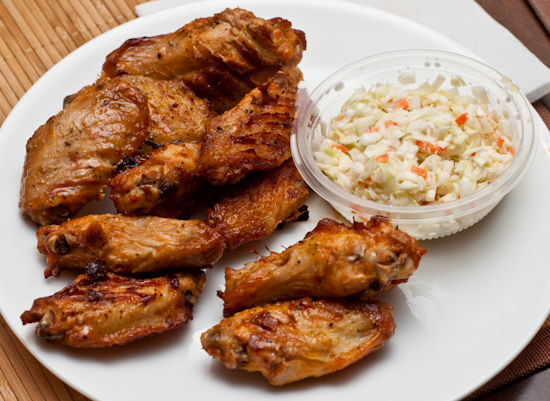 KFC - Fiery Grilled Wings and Cole Slaw