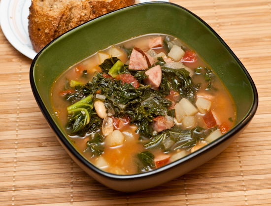 Kale, Potato, and Sausage Soup
