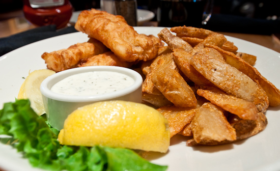 BJ's Brewhouse - Brewhouse Blonde Fish 'n Chips