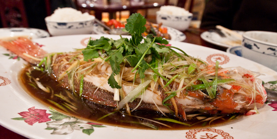 Pao's Mandarin House - Steamed Whole Snapper