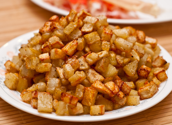 Roasted Diced Potatoes