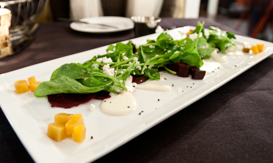 Paggi House - Roasted Beet Carpaccio