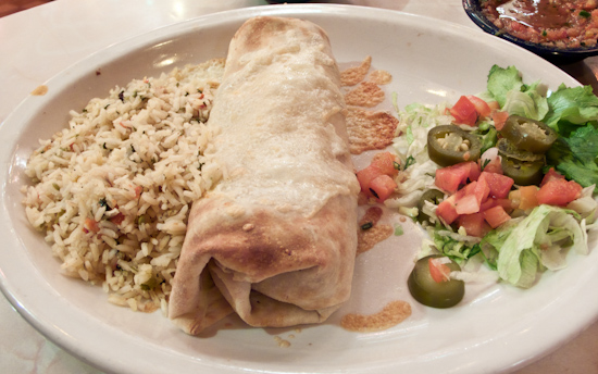 Chuy's - Steak Burrito