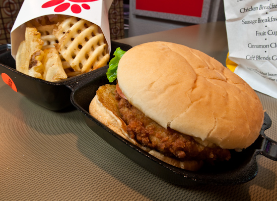 Chick-Fil-A - Deluxe Chicken Sandwich with Fries