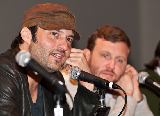 Robert Rodriguez and Ruben Fleischer