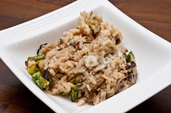 Leftover South Congress Cafe Mushroom Risotto