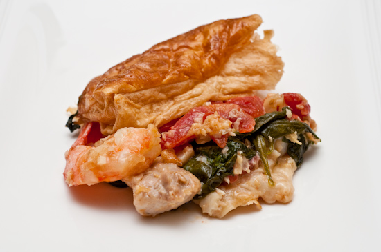 Leftover South Congress Cafe Puff Pastry and Seafood