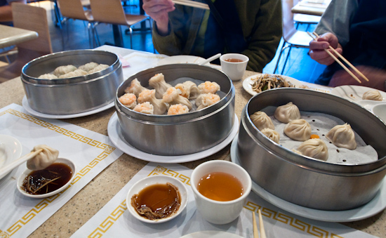 Din Tai Fung - Shaomai, Fish Dumplings, and Xiaolong bao