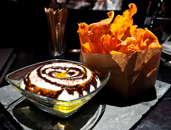 The Bazaar By Jose Andres - Sweet potato chips