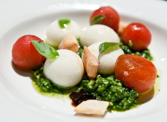 The Bazaar By Jose Andres - Not your everyday Caprese