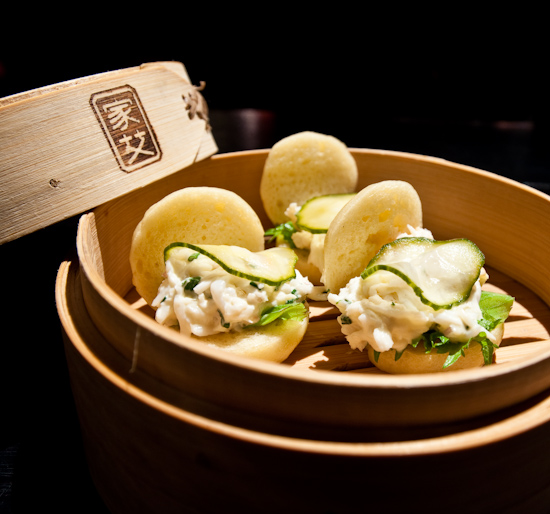 The Bazaar By Jose Andres - King crab steamed buns