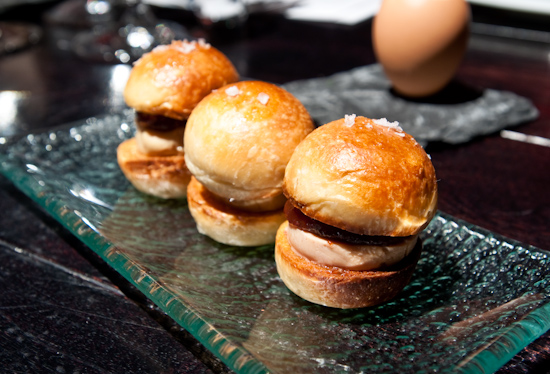 The Bazaar By Jose Andres - Foie gras sandwich
