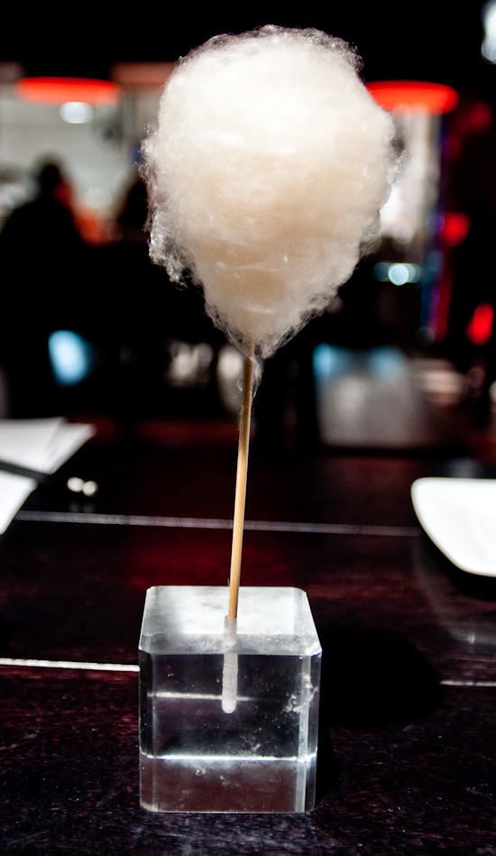 The Bazaar By Jose Andres - Cotton candy foie gras