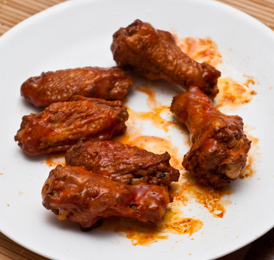 Leftover Domino's Buffalo Wings