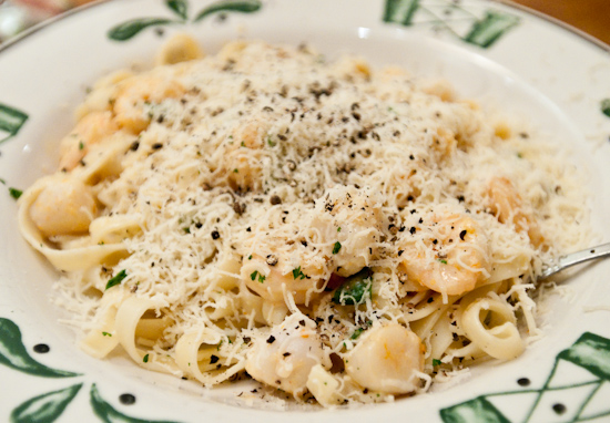 Olive Garden Seafood Alfredo Calories