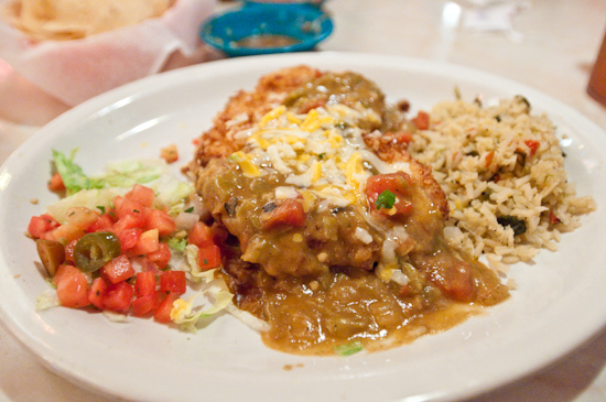 Chuy's - Elvis Green Chile Fried Chicken