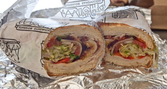 Which Wich - Thank You Turkey Sandwich