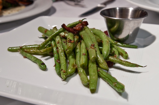 Jeffrey's - Caramelized Green Beans & House-Cured Bacon