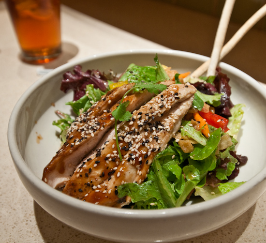 Cafe Bistro - Warm Asian Glazed Chicken Salad