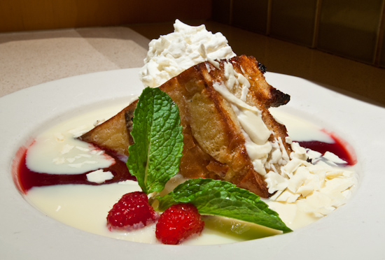 Cafe Bistro - White Chocolate Bread Pudding