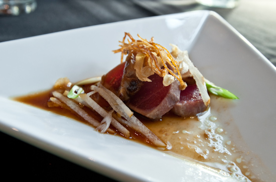 Kenichi - Tuna and Miso Foie Gras