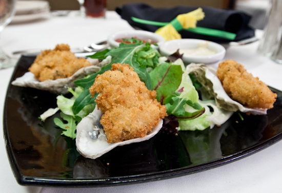 Ruth's Chris Steak House - Fried Oysters