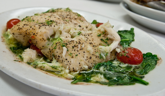 Ruth's Chris Steak House - Alaskan Halibut