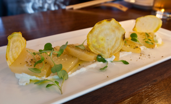 Uchiko - roasted golden beets
