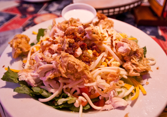 Texas Roadhouse - Chicken Critter Salad