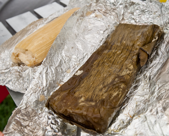 Sunset Valley Farmer's Market - Tamales