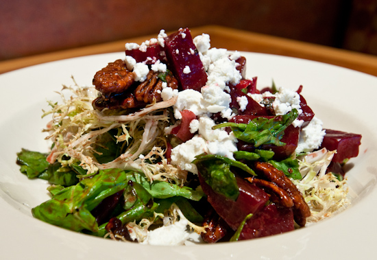Cafe Bistro - Roasted Beet Salad with Candied Pecans
