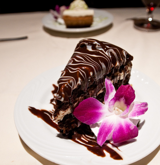 Fogo de Chao - Triple Chocolate Mousse Cake