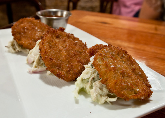 Bess Bistro on Pecan - Fried Green Tomatoes