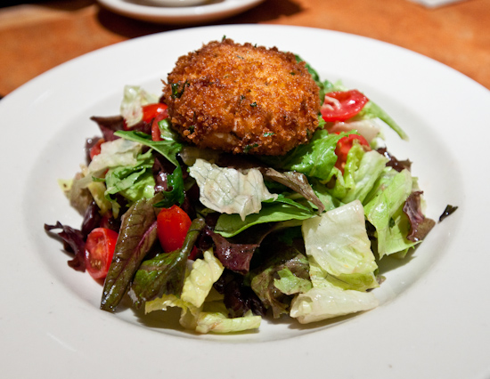 Nordstrom's Cafe Bistro - Warm Goat Cheese Salad
