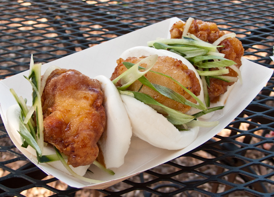 Not Your Mama's Food Truck - Korean Fried Sliders
