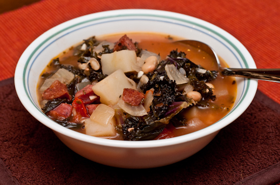 Red Kale Soup
