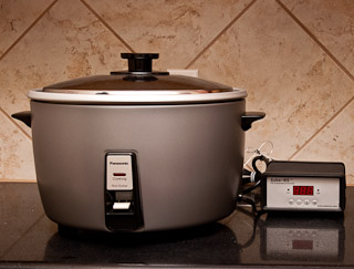 Rice cooker and PID controller